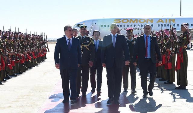 Таджикистан — Иордания: 11 новых документов о сотрудничестве